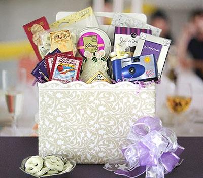 Fun Bridal Shower Gift Basket Ideas : Bridal Shower Gift Basket Ideas Wedding Shower Fun Gift Basket